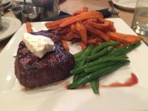 L'énorme steak!